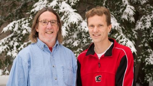 Professors Frank Magilligan and Carl Renshaw